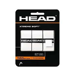 Head Xtremesoft Overgrip, Bianco, Taglia Unica