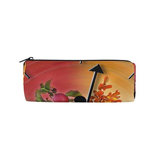 Yoga Passing Time matita della penna borsa multifunzionale cancelleria della cerniera borsa di Bennigiry, con matita titolari sacchetto regalo studente viaggio borsa trucco