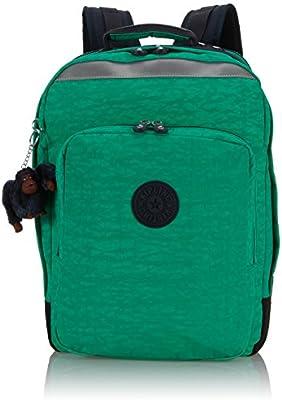 Kipling Mochila escolar, Island Green C (Varios colores) - K1361201M