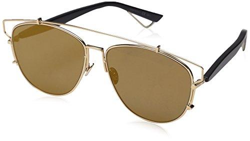 Dior Damen Diortechnologic 83 Sonnenbrille, Schwarz (Gold Black), 57