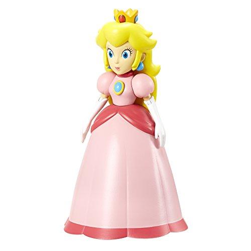 Nintendo - Figura Princess Peach Con Crown, 10 cm