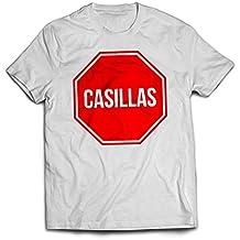 Hombres de Porto Madrid 20152016Funny T-Shirt Tee Casillas Stop