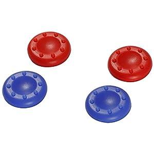 snakebyte control:caps (4x schwarz), Analogstick Aufsätze für Dualshock 4 Controller – [PlayStation 4]
