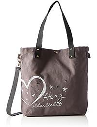 Adelheid AdelheidHerzallerliebst Pailette Einkaufstasche - Shopper Mujer