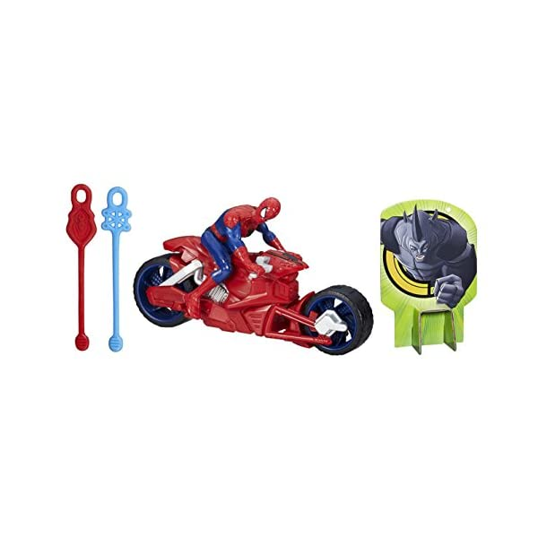 Marvel Ultimate Spider-Man - Web Slingers Racers - araña araña Speedster 1