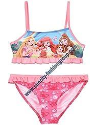 Maillot de bain 2 pièces fille Disney princesses - Palace Pets Rose 3 à 6ans