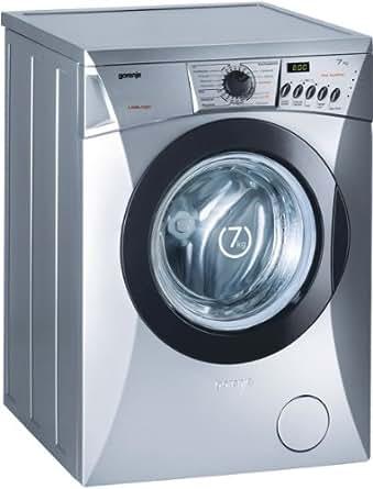 Gorenje WA 72147 AL Waschmaschine / AAA / 1.06 kWh / 1400 UpM / 7 kg / LED / silber