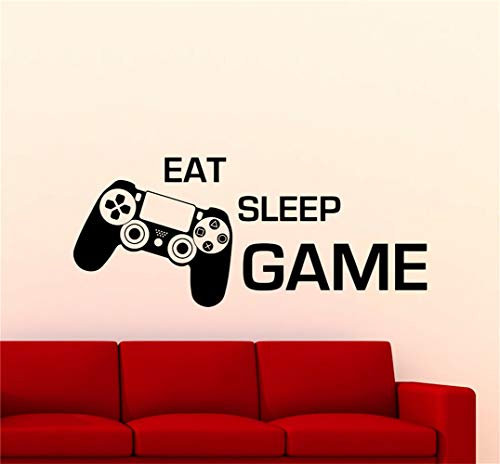 adesivo murale 3d adesivo muro Gioco Decalcomanie Gioco Decalcomanie Gioco Eat Sleep Gioco Ps4 Video Gioco Adesivo Playroom Poster