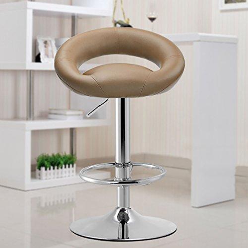 TANG CHAO Hocker Barhocker Barhocker Rezeption Kassierer Hochhocker Mode Einfachen europäischen Stil Swivel Barhocker Stühle (Farbe : D) -