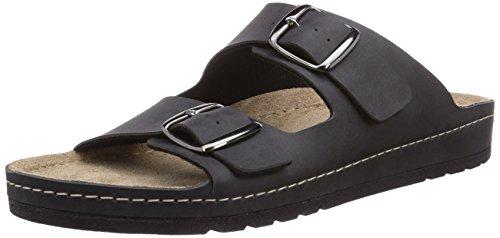 Rohde Riesa-h, Chaussures de Claquettes homme Noir - Schwarz (schwarz 90)