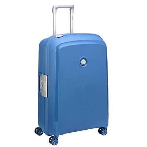 DELSEY PARIS BELFORT PLUS Valise, 70 cm, 92 litres, Bleu Cyan