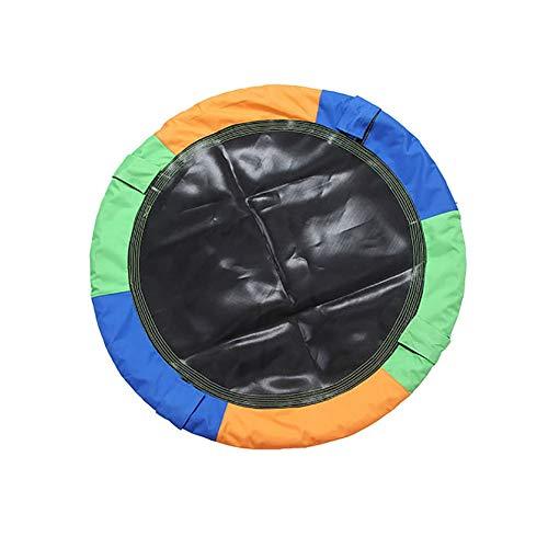 Nestschaukel YXX Einstellbare Höhe Runde Saucer Baum Swing - Max Kapazität 150 kg, Durchmesser 100 cm, Beste Geburtstags-Geschenke für Kinder Spielen -
