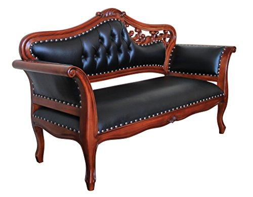 Canapé – Style Antique   baroque   Lauscha   Louis XV/XVI   classique   fabriqué à la main   bois massif