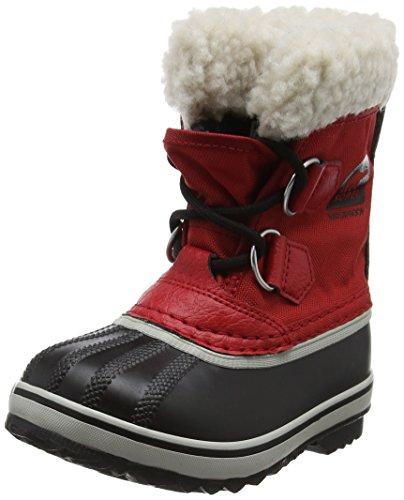 Sorel Kinder Childrens Yoot Pac Nylon Stiefel, rot (rocket)/schwarz (nocturnal), Größe: 28 Pac Boot