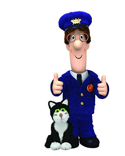 Image of Postman Pat and Jess the Cat V501 Wall Sticker Decal Self Adhesive Poster Wall Art Size 1000mm High x 600mm Wide (large)
