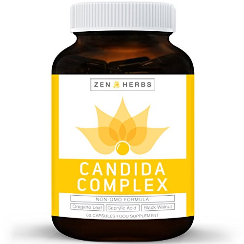 Candida-Cleanse-Yeast-Support-NON-GMO-Powerful-Natural-Herbs-Caprylic-Acid-Oregano-Oil-Extract-60-Capsules