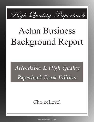 aetna-business-background-report
