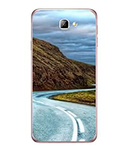 PrintVisa Designer Back Case Cover for Samsung On5 (2016) New Edition For 2017 :: Samsung Galaxy On 5 (2017) (Long Winding Road Hills Sky )