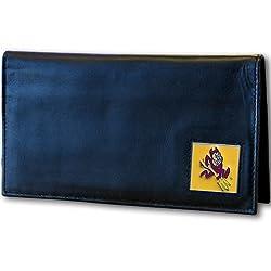 Arizona St. Sun Devils Leather Checkbook Cover
