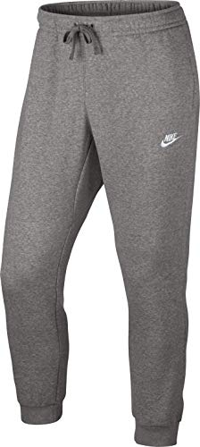 Nike Herren Jogger Fleece Club Trainingshose, Grau, L