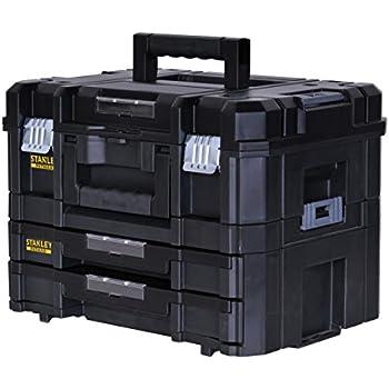 stanley werkzeugkiste leer aus kunststoff 1 70 316 werkzeugkoffer mit integrierter schublade. Black Bedroom Furniture Sets. Home Design Ideas