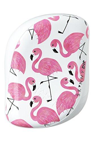 Tangle Teezer Compact Styler Skinny Dip White Flamingo Brosse