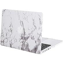 MOSISO Ultra Slim Plástico Hard Shell Funda Snap Case para MacBook Pro 13 Pulgadas con Retina Display sin unidad de CD (A1502 / A1425), patr ón de mármol