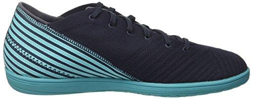Scarpe Da Calcio Adidas Uomo Nemeziz 17.4 In Sala Multicolor (leggenda Inchiostro F17 / Giallo Solare / Blu Energia S17)