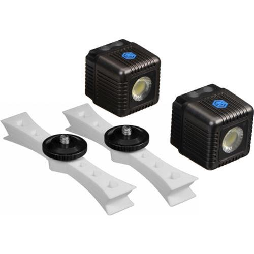 Lume Cube LC0045 - Antorcha LED, Gris - Kit Montura dji Phantom 3 y 2 Unidades