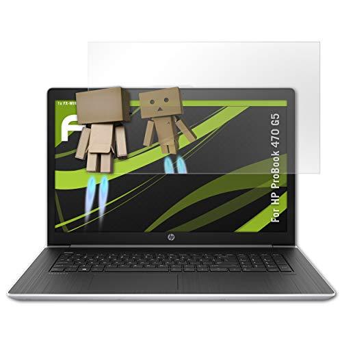 atFolix Bildschirmfolie kompatibel mit HP ProBook 470 G5 Spiegelfolie, Spiegeleffekt FX Schutzfolie