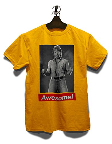 Awesome 20 T-Shirt Gelb