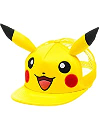 Pokemon Pikachu Trucker Hat with Big Face with Ears