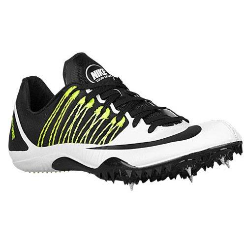 Nike Zoom celar Unisex Adulto 5Scarpe Sport, Multicolore (Weiß/Schwarz/Grün (Weiß/Schwarz-Volt)), 47