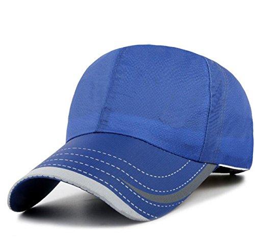 Outdoor Ressort Casquette De Baseball De La Mode Et Mlle Xia Ji Mâle Séchage Rapide Pare-soleil Respirant blue