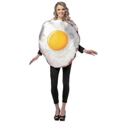 Spiegelei Kostüm - Spiegelei Kostüm für Erwachsene