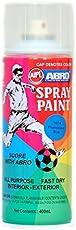 Abro Colour Spray Paint (400ml, Fluorescent Blue)