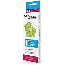 Fridgedoc - Réfrigérateur hygiène | Garde les aliments frais plus longtemps | 99% moins d'agents pathogènes | Neutralisateur d'odeurs | désinfection du réfrigérateur