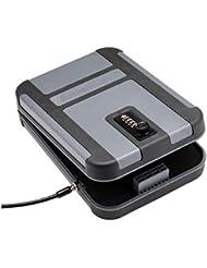 SNAPSAFE Treklite Lock caja con cierre de conbination, XL 75241, estuche de policarbonato, diseño de pistola seguro y portátil, TSA & Ca departamento de justicia aprobado, medidas 25cm x 18cm x 5cm