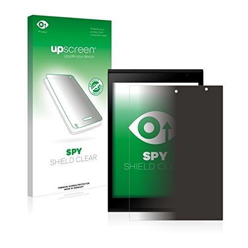 upscreen Spy Shield Clear Blickschutzfolie / Privacy für Jolla Tablet (Sichtschutz ab 30°, Kratzschutz, selbstklebend)