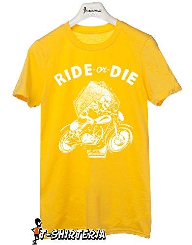 Tshirt Ride or Die - Tutte le taglie by tshirteria Giallo