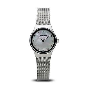 BERING Reloj Analógico para Mujer de Cuarzo con Correa en Acero Inoxidable 12924-000