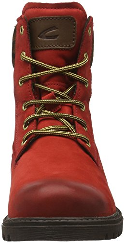 Camel Active Outback 72, Bottes Classiques Femme Rouge (Red/Brown 21)