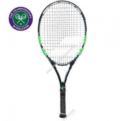 Babolat 2016 Pure Drive Junior (26) Wimbledon Tennis Racquet (4-0/8) by Babolat