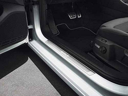Original Volkswagen Einstiegsleisten Set VW Golf 7 (5G) Edelstahl Tuning Schriftzug (2-Türer)
