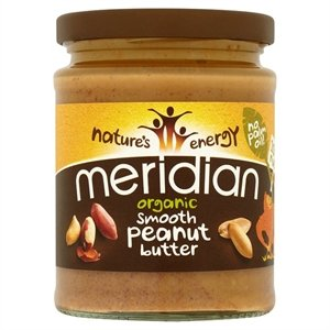 Meridian–Organic Peanut Butter Smooth 100%–280g (Case Of 6)