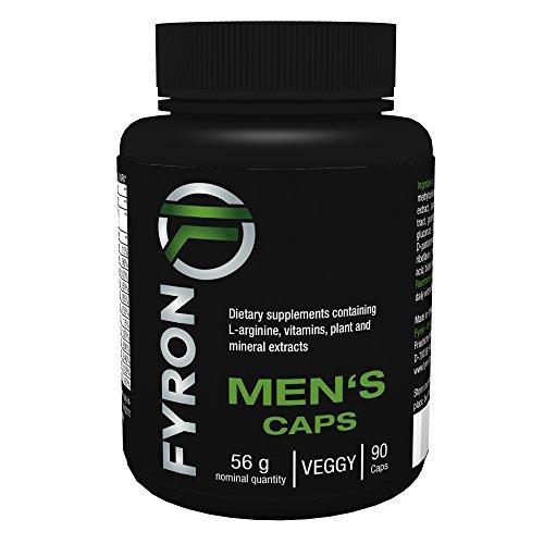 FYRON MEN's - 90 Capsule per Uomo (Fertilità - Livello di testosterone - Sperma) - Prodotto in Germania
