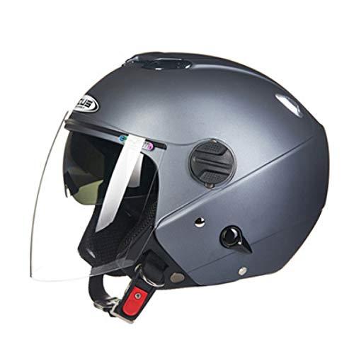 Motocicleta Open Face Harley Casco