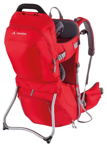vaude-kindertrage-shuttle-comfort-portabebe-color-rojo-talla-uk-talla-25