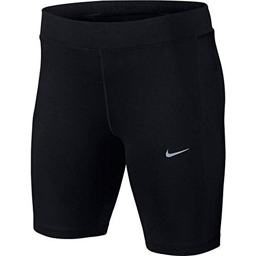 Nike Damen 8 Zoll Dri Fit Essential Shorts Black, XS