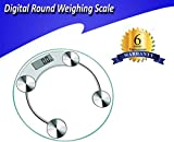 Weighing Scale 8Mm Glass Digital Weight Machine